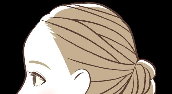 ヘアライン(サイド)