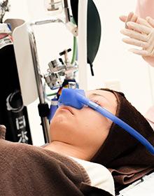 笑気麻酔の使用