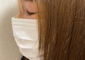 マスクの着用時の見え方 side